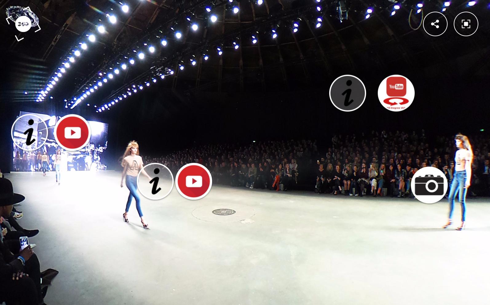 360 graden productie voor Fashion United tijdens Spijkers & Spijkers Amsterdam Fashion Week